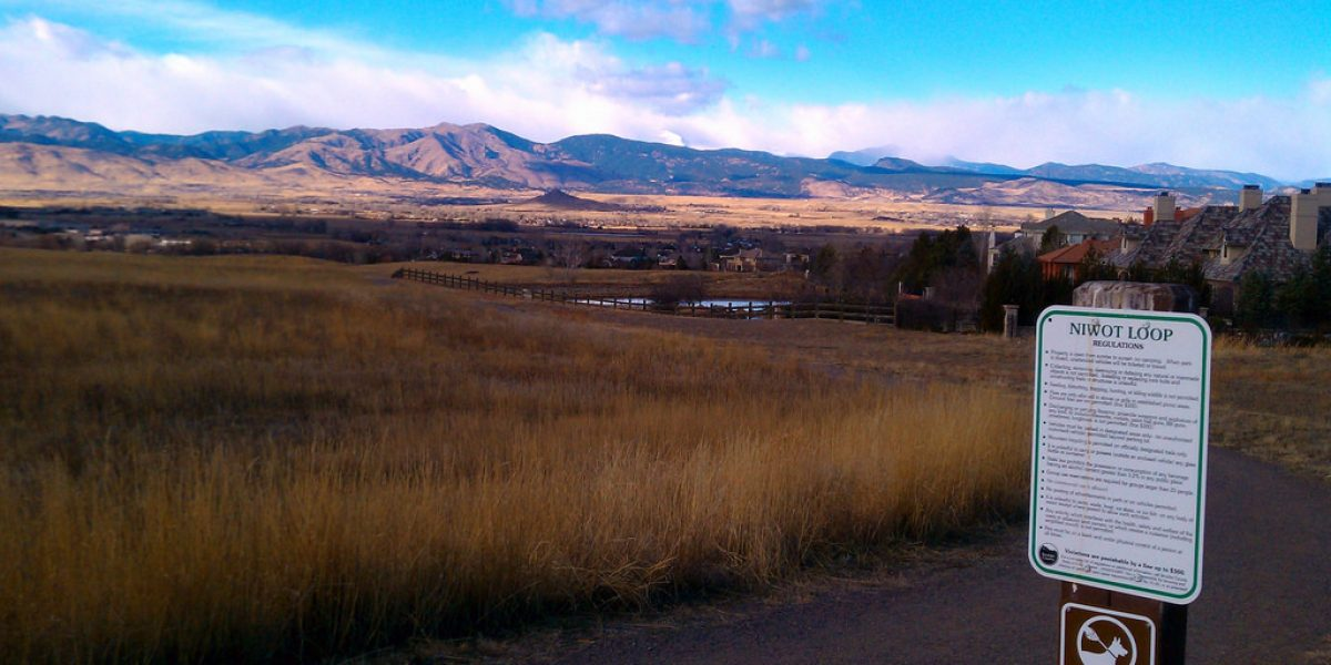 Niwot Loop Trail From Somerset