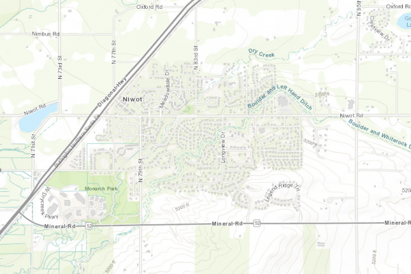 Niwot Real Estate Map Public Data